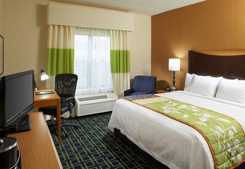 Fairfield Inn & Suites Cumberland - King Guest Room