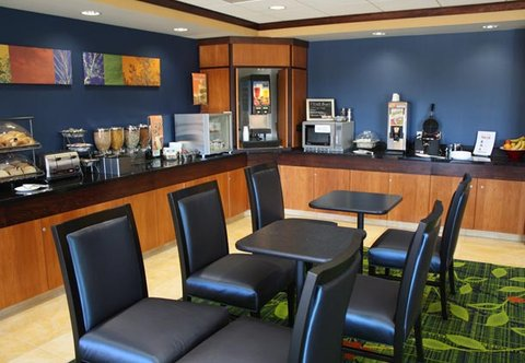 Fairfield Inn & Suites Colorado Springs North/Air Force Academy - Breakfast Buffet