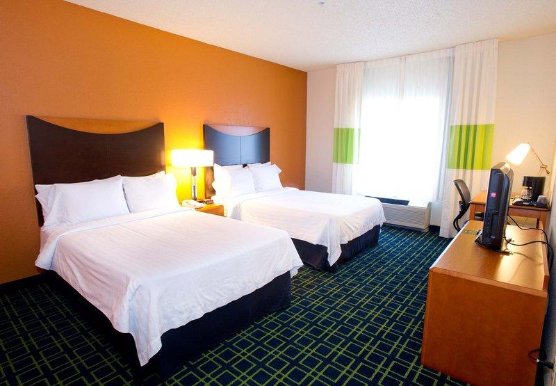 Fairfield Inn by Marriott Irving DFW Airport Szobakilátás