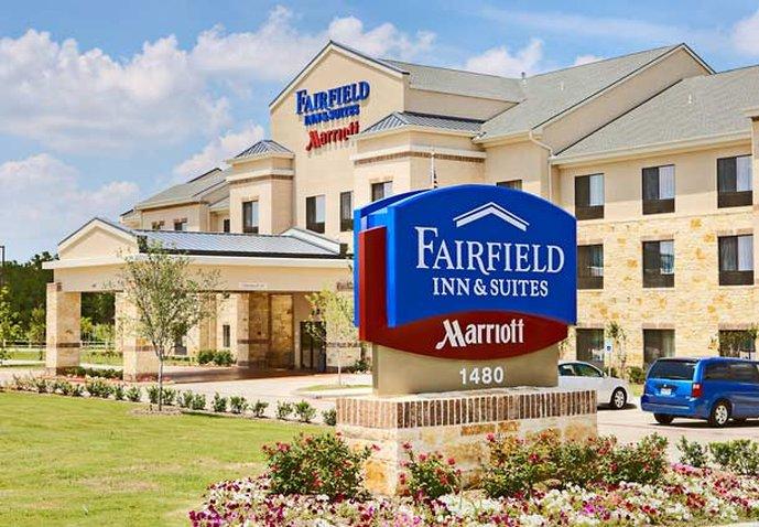 Fairfield Inn & Suites Dallas Mansfield Kilátás a szabadba