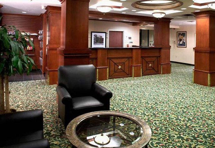 Fairfield Inn and Suites by Marriott Parsippany Lobby