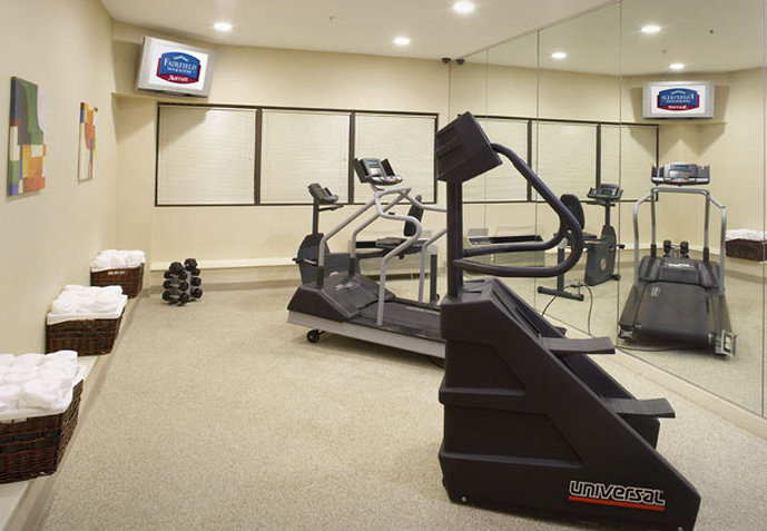 Fairfield Inn and Suites by Marriott Parsippany Fitness-klub