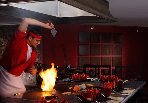 شرم الشيخ ماريوت ريزورت - Kona Kai Sushi Bar   Restaurant