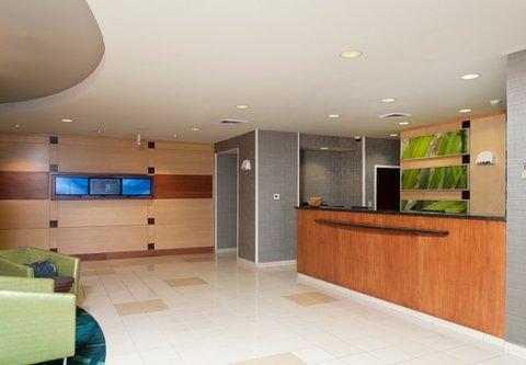 Springhill Suites Grand Rapids Airport Southeast Hotel - Front Desk