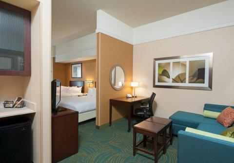 Springhill Suites Grand Rapids Airport Southeast Hotel - Queen Queen Suite