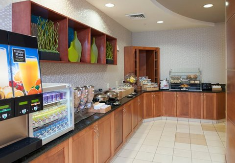 Springhill Suites Grand Rapids Airport Southeast Hotel - Breakfast Area