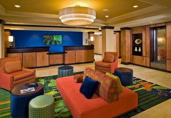 Fairfield Inn & Suites Jacksonville West - Lobby