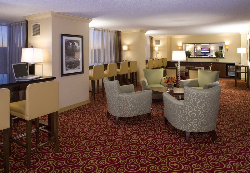 Marriott St Louis West Bár/lounge