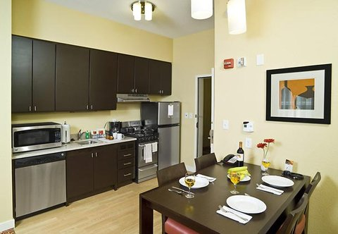 TownePlace Suites by Marriott Gilford - Accessible Two-Bedroom Suite Kitchen