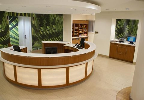 SpringHill Suites Miami Arts Health District Hotel - Front Desk