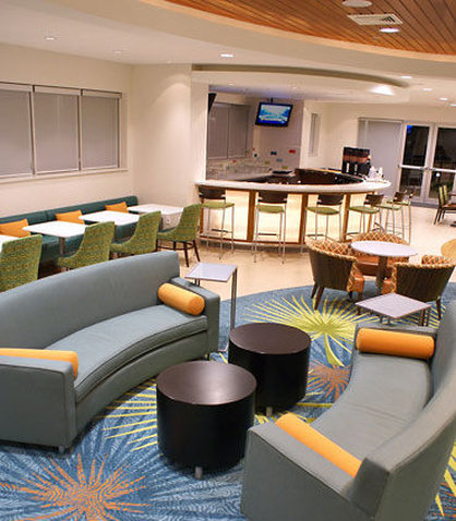 SpringHill Suites Miami Arts Health District Hotel - Lobby Seating Area