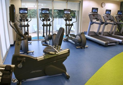 SpringHill Suites Miami Arts Health District Hotel - Fitness Area