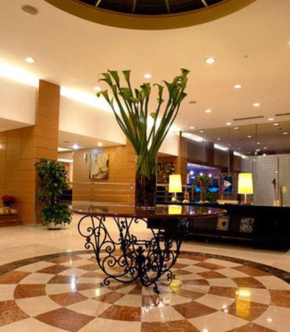 Marriott Hotel Tijuana Lobby