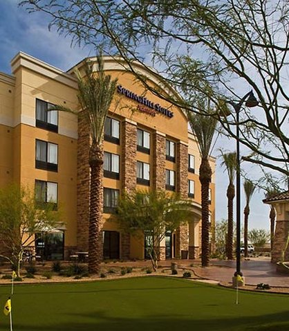 SpringHill Suites by Marriott Phoenix Glendale Golfbana