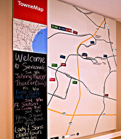 Towneplace Suites by Marriott Savannah Airport - TowneMap