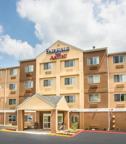 Fairfield Inn Branson 外観
