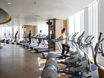 Centara Grand at CentralWorld Fitness salonu