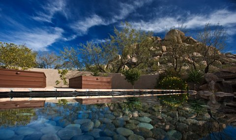 Boulders Resort & Golden Door Spa - Golden Door Reflection Pool - Shelby - 01 08