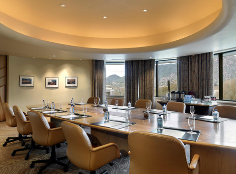 Boulders Resort & Golden Door Spa - Tohono Boardroom - Shelby - 01 08