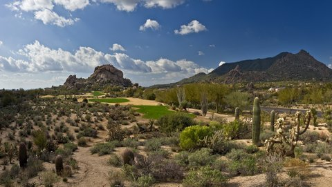 Boulders Resort & Golden Door Spa - Golf 5 South  Shelby 01 08