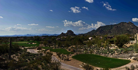 Boulders Resort & Golden Door Spa - Golf 17 North  Shelby 01 08