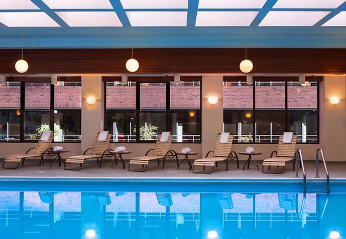 Washington Marriott Georgetown Fitness-klub
