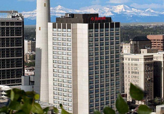 Calgary Marriott Downtown Hotel Kilátás a szabadba