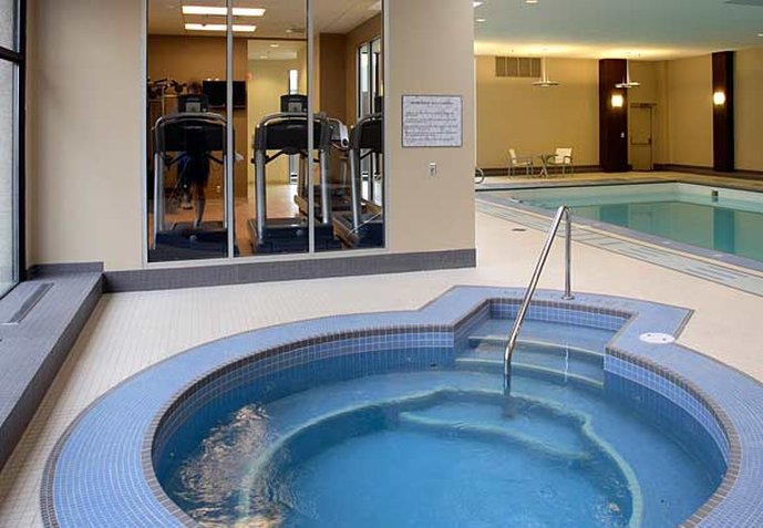 Calgary Marriott Downtown Hotel Fitneszklub