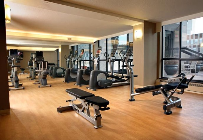 Calgary Marriott Downtown Hotel Fitness