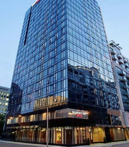 Residence Inn Toronto Downtown/Entertainment District Set udefra