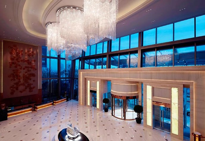 Shanghai Marriott Hotel Changfeng Park Exterior view