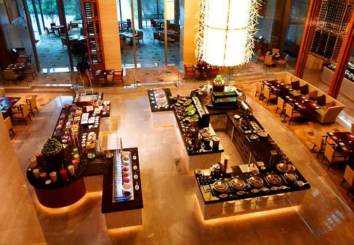 Shanghai Marriott Hotel Changfeng Park Gastronomy