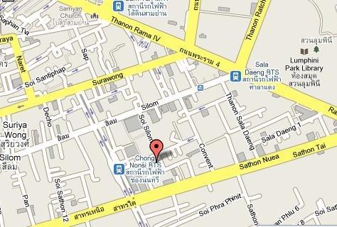 Glow Trinity Silom - Map