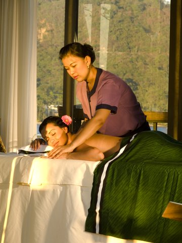 Banyan Tree Cabo Marques - Spa Pavillion Interior Body Massage