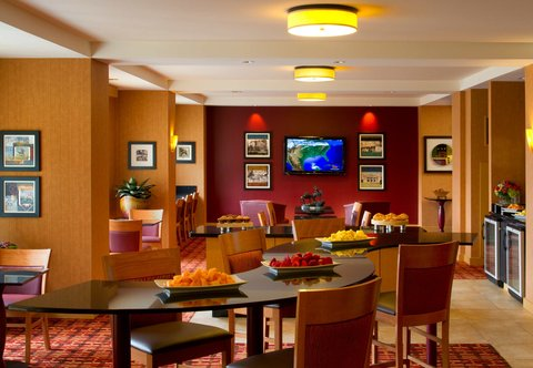 Dallas/Plano Marriott at Legacy Town Center - Concierge Lounge