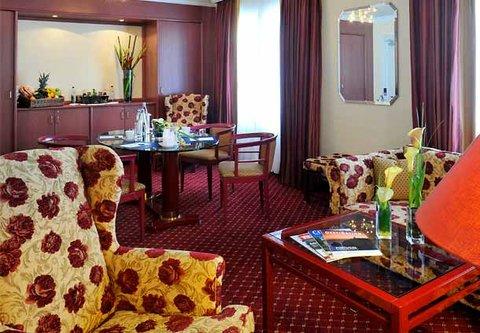 漢堡機場萬豪庭院酒店 - Business Suite