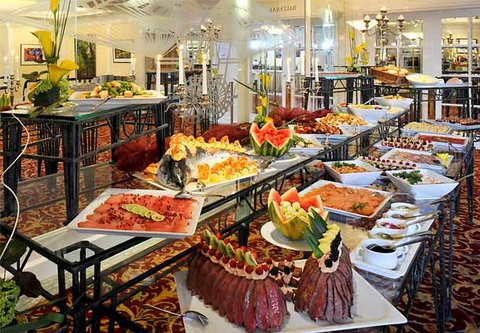 漢堡機場萬豪庭院酒店 - Gala Buffet