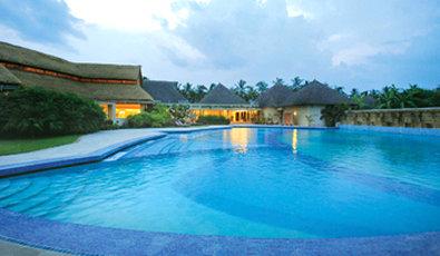 Vedic Village Spa Resort - Lotus Shaped Pool