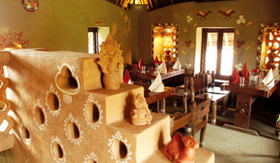 Vedic Village Spa Resort - Bhoomi Restaurant