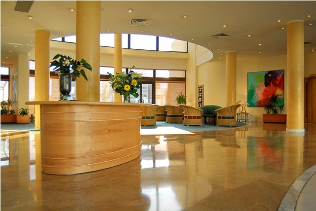 Marina Hotel at the Corinthia Beach Resort Lobby