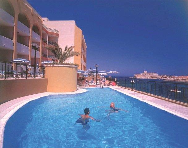 Marina Hotel at the Corinthia Beach Resort Pool