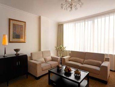 北京寶辰飯店 - Deluxe Suite Living Room