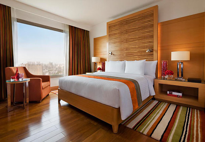 Courtyard Gurgaon 客室