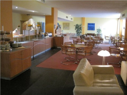 Terminal Koln Hotel - Breakfastroom