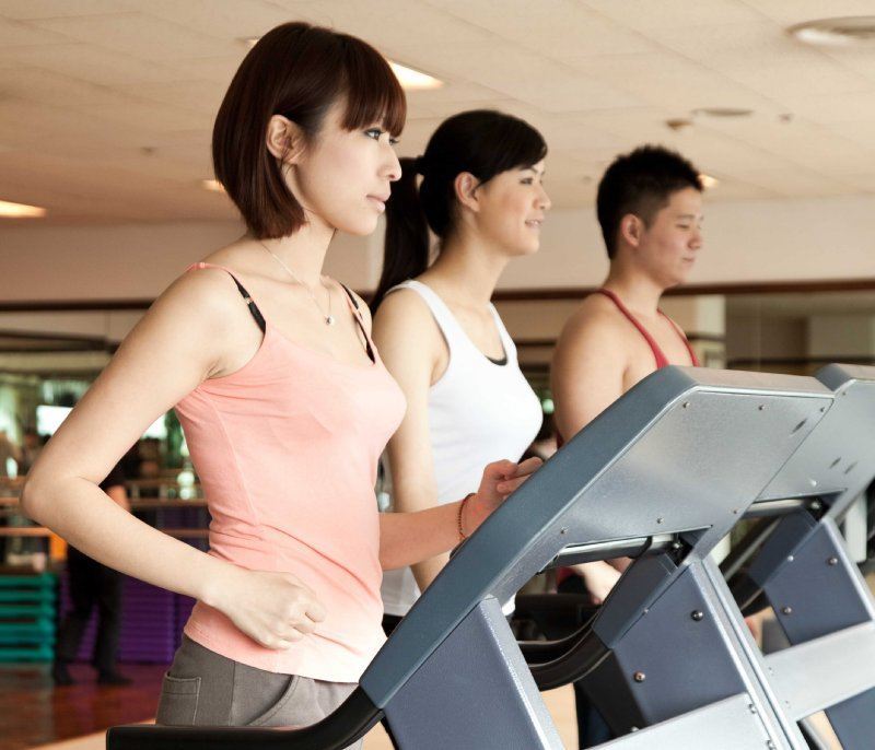 The Howard Plaza Hotel Taipei Fitness club