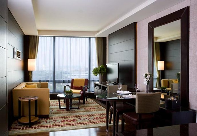 Marriott Executive Apartments Seoul Yeouido Park Centre 客房视图