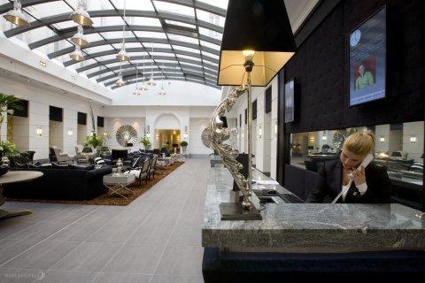 Alta Moda Fashion Hotel - Reception Area At Alta Moda Fashion Hotel