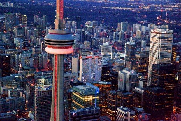 Sheraton Centre Toronto Hotel Außenansicht