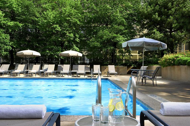 Sheraton Centre Toronto Hotel 游泳池视图
