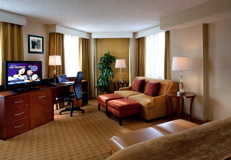 San Francisco Marriott Fisherman's Wharf View of room